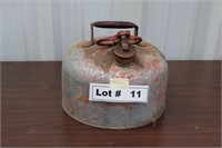 VINTAGE GAS CAN - 2 GAL