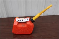 PLASTIC GAS CAN - 1 GAL