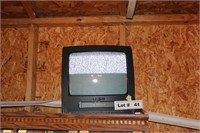 """EMERSON 13"""" TV/VCR - WORKS"""