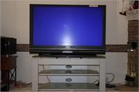 """65"""" MITSUBISHI TV WITH STAND - WORKS"""