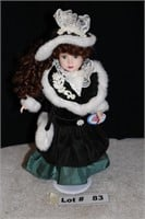 """PORCELAIN DOLL APPROX 15"""""""