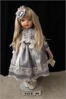 """PORCELAIN DOLL APPROX 24"""""""