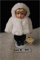 PORCELAIN DOLL APPROX 12""