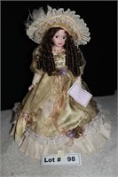 """PORCELAIN DOLL APPROX 21"""""""