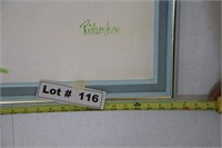 """LARGE PAIANTING 83"""" LONG X 52"""" WIDE"""