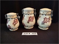 KITCHEN CANISTER SET OF 3