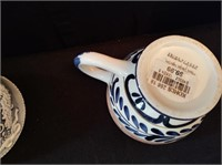 QTY 2 TEA POTS WITH CUPS