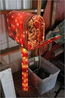 CHRISTMAS ANIMATED MAIL BOX AND OUTDOOR LIGHTS