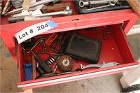 WATERLOO TOOL BOX W/ TOOLS AS PICTURED