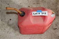 PLASTIC GAS CAN - 5 GAL