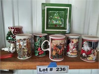 HOLLIDAY CUPS AND DÉCOR