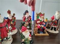 ASSORT. CERAMIC CHRISTMAS SANTAS