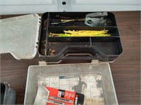 ASSOTED NAILS, ZIP TIES AND MORE WITH BOXES SHOWN