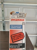 QTY 6 SYLVANIA BULBS