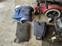 QTY 4 SCOOTERS IN VARIOUS STAGES OF DISREPAIR - PA