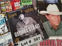 GEORGE STRAIT MEMORABILIA LOOK AT ALL PICTURES TOO