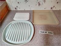 MICROWAVE BAKING PANS
