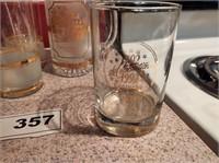 GOLD LEAF GLASSES AND MUGS