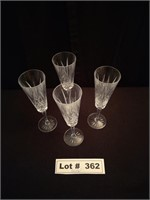 CRYSTAL CHAMPAIGN GLASSES