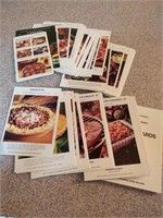 RECIPE CARD BOX, CARDS, AND COOK BOOKS