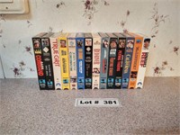 ASSORT VHS MOVIES