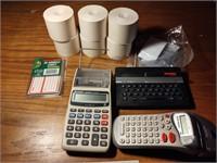 CALCULATORS AND PAPER, SPELLER