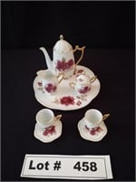MINIATURE CHINA TEA SERVING SET