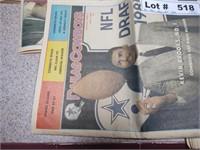 1985 JAN-MAY, AUG, OCT-DEC COWBOYS