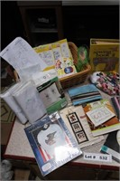 NEEDLE CRAFT AND SUPPLIES