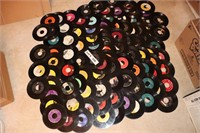 LP AND 45 RECORDS