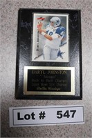 COWBOY DARYL JOHNSTON PLAQUE