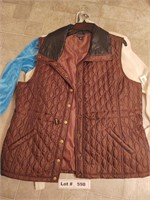 XL WOMENS VESTS AND JACKET
