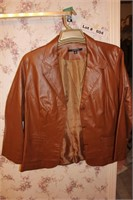 LEATHER JACKET SIZE SHOWN