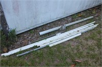 SEVERAL LENGHTS OF PVC