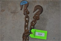 24' Long Chain Hooks Both Ends