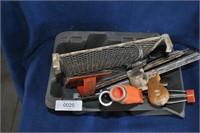 Box of Tape & Bedding Tools