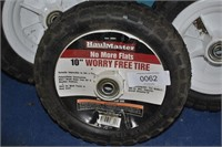 """3 Haul Master 10"""" Tires"""