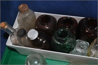 Flat of electric insulators and small jars