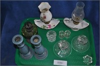 Candlesticks and Oil Lamps