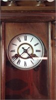 24 x 11 vintage German regulator clock wall hang