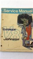 Vintage Evinrude  V8 marine service manual