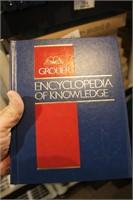 grolier 20 books - encyclopedia of knowledge