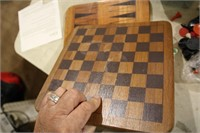 premier edition solid wood 5 game centre