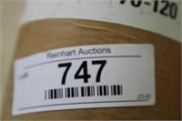 "ROBERTS 30/40 NATURAL WAXED PAPER 36""W X 250FT L"