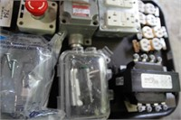 TRAY-2 CONTROL STATIONS,RECEPTACLES,SWITCHES