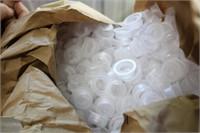 ORANGE BIN - PLASTIC CAPS & PLUGS