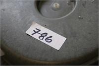 1 BARREL CART (5 CASTOR WHEELS )