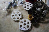 BOX-VARIOUS HOSE , CLAMPS,FITTINGS,ETC