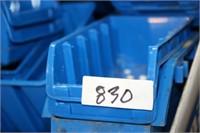 BLUE ORGANIZER BINS