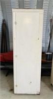 Old Hardwood Cabinet, Good, Solid Cabinet,